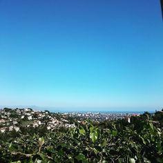 C'est parti pour un #jogging sous un superbe ciel azur  #LaPêche #LaForme #HappySunday