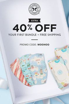It's Black Friday, Baby! Claim an extra 40% off your first Bundle + Free Shipping with promo code: WOOHOO applied at checkout.