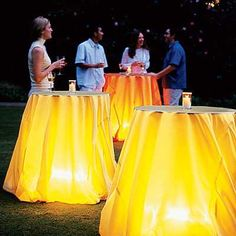 great idea for backyard BBQs and even indoor dong it for my company party !