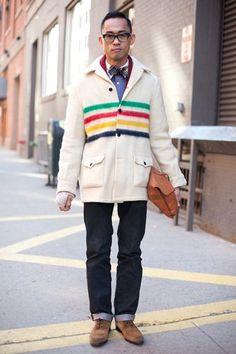 i get excited when i see Hudson's Bay jackets! #thebay #jacket