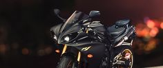 HD Background Yamaha YZF R1 Sport Bike Black And Gold Wallpaper ...
