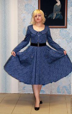 Шьем из батиста женское платье стиль милитари
