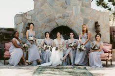 Lilac bridesmaid dresses | Image by Katch Silva