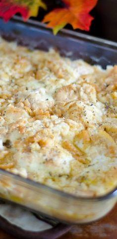 Crumb-topped, Supreme Chicken Casserole