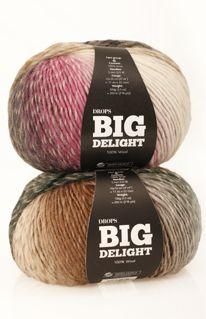 DROPS Big Delight color chart ~ DROPS Design