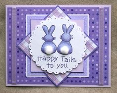 Handmade Easter Card by HandyScraps on Etsy