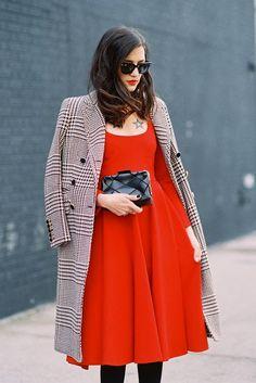 #EleonoraCarisi #VanessaJackman | New York Fashion Week AW 2014