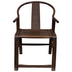 18th Century Chinese Horseshoe Chair | 1stdibs.com