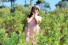 Pretty fairy in the wilderness