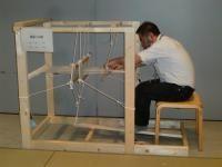 Osaka Museum handmade floor loom