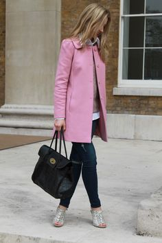 Pink Coat/The Stylist And The Wardrobe