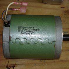 motor do gerador eólico caseiro