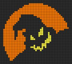 Halloween perler bead pattern