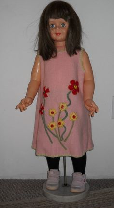 Lambswool Girls Jumper Dress Upcycled Repurposed by secondblush, $32.00