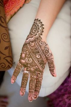 beautiful mehndi! Photo by: Erin Johnson #henna