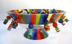 Mooie glas kunst van Frank van den Ham