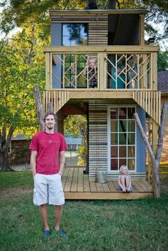 50 Kids' Treehouse Designs (also has links to forts)