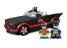 1966 Mez-Itz Batmobile with Batman & Robin - Batman Mez-Itz