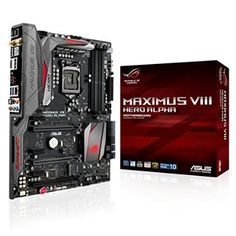 ASUS ROG MAXIMUS VIII HERO ALPHA ATX DDR4 3000 LGA 1151 Motherboards - Introduce what's new and future releases an updated daily