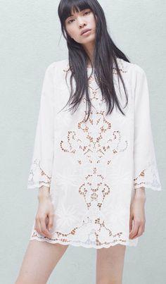 Vestito estivo bianco estella