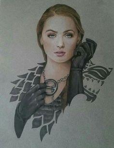 Sansa Stark by Jermsy