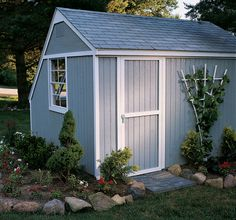 Aurora Greenhouse Shed Shown With Eave Side Door. Greenhouse Shed, Wood  Gardens,