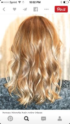 Thinking of this honey blonde for a more natural look. Not for months though lol