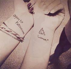 Expecto Patronum tattoo...