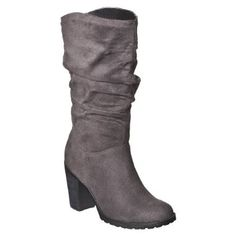 Cute boots from Target!
