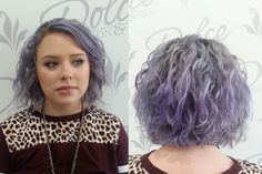 Hair Color How To: Lovely Lilac by Melissa Emerick (Before)