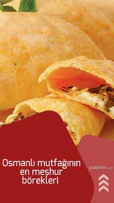 600 yıldan fazla ayakta kalmış Osmanlı İmparatorluğu bu uzun yıllar içinde birbirinden farklı kültürlerle, milletlerle ve coğrafyalarla olan etkileşimi en fazla mutfağına yansımış gözüküyor. Osmanlı mutfağının en meşhur börekleri nelerdir? Osmanlı mutfağının birbirinden lezzetli, pratik ve denenmiş börek çeşitlerini sizlerle paylaşıyoruz. İşte, Osmanlı mutfağından 5 nefis börek tarifi:
