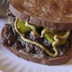 Loosemeat Sandwiches III