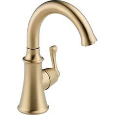 Delta Faucet 1914-CZ-DST Traditional Champagne Bronze  Cold Water Dispenser Kitchen Faucets |eFaucets.com