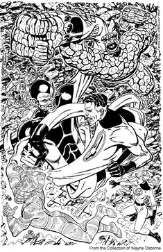 Fantastic Four vs Super-Skrull by John Byrne
