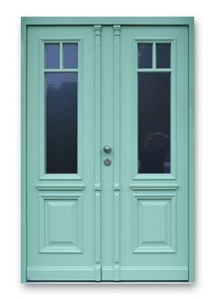 zweiflügelige Holz Haustür