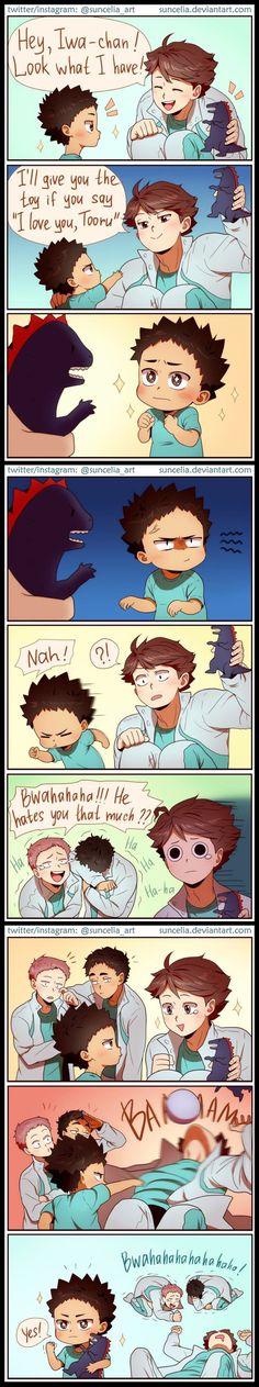 Poor Oikawa