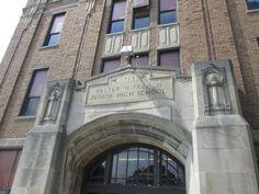 Walter French Junior High School, Lansing MI, built 1925