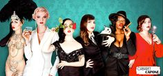 Znalezione obrazy dla zapytania burlesque troupe