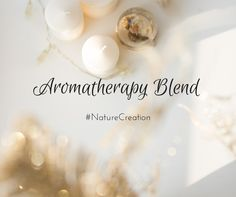 Learn what Herbs are part of our Natural Aromatherapy Blend. #wellness #aromatherapy #herbalremedies #naturecreation