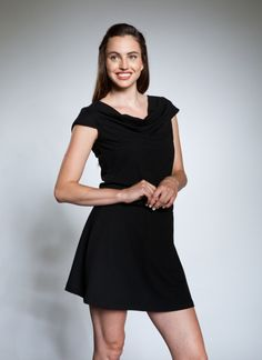 Jersey dress, perfect for spring! $76 on Ethical Ocean. #sustainablefashion