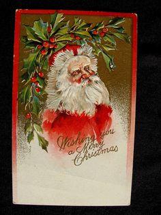 Grouchy Santa Claus