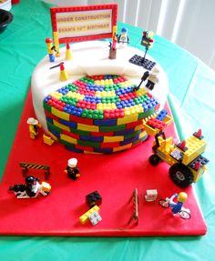 Simple LEGO Birthday Cakes For Boys Easy LEGO Birthday Cake - Lego birthday cake pictures