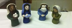 CGS, Infancy Narratives-Level 1-The Presentation in the Temple. Made with Sculpey clay.