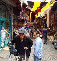 Street life. Market, Istanbul.