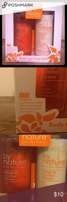 By Nature Mango & Coconut Body Wash and Lotion Smells delicious!! Very natural-brand is from Nee Zealand. by Nature Other
