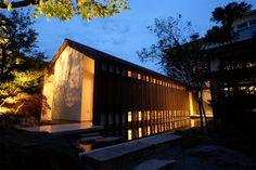 若狭小浜神殿建築「水結の杜」 設計:風ノ結建築設計事務所