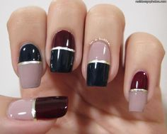 The 100 Best Sophisticated Grown Up Nail Art Images On Pinterest