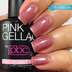 #141 Pink Gellac Glitter Pink