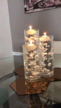 LARGE TEA LIGHT CANDLE HOLDERS PACK of 6 WEDDING PARTY GARDEN HOME CHRISTMAS