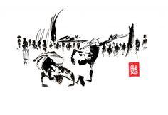 Encres : Capoeira – 472 « To slow... » [ #capoeira #watercolor #illustration]